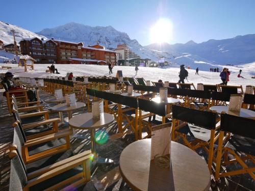 Panoramic View - La Face Ouest - Val Thorens